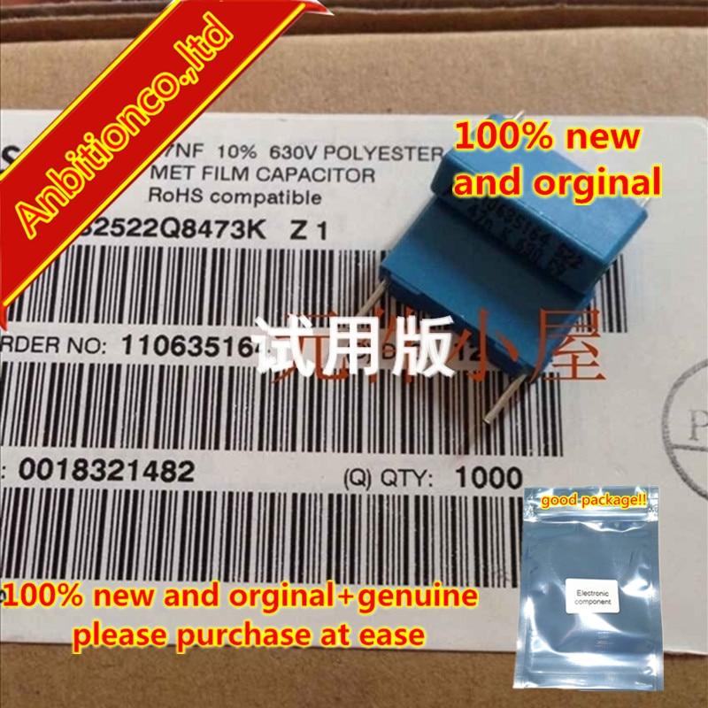 10pcs 100% New And Orginal Safety Capacitor 47NF / 630V B32522Q8473K 0.047UF 473 / 630V P = 5MM In Stock