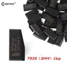 KEYYOU – puce de clé de voiture 5x, transpondeur d'allumage de véhicule, transpondeur ID44 ID 44, puce d'immobilisation en carbone PCF7935AA pour BMW série 1 3 5 7