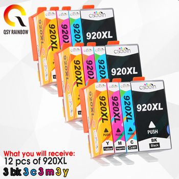 Compatible ink cartridge for HP 920XL For HP920 Officejet 6000 6500 6500A 7000 7500 7500A printer with chip 4pcs 920xl 920 xl hp 920 ink cartridge for hp 920xl for hp officejet 6000 6500 6500a 7000 7500 7500a printer cartridges