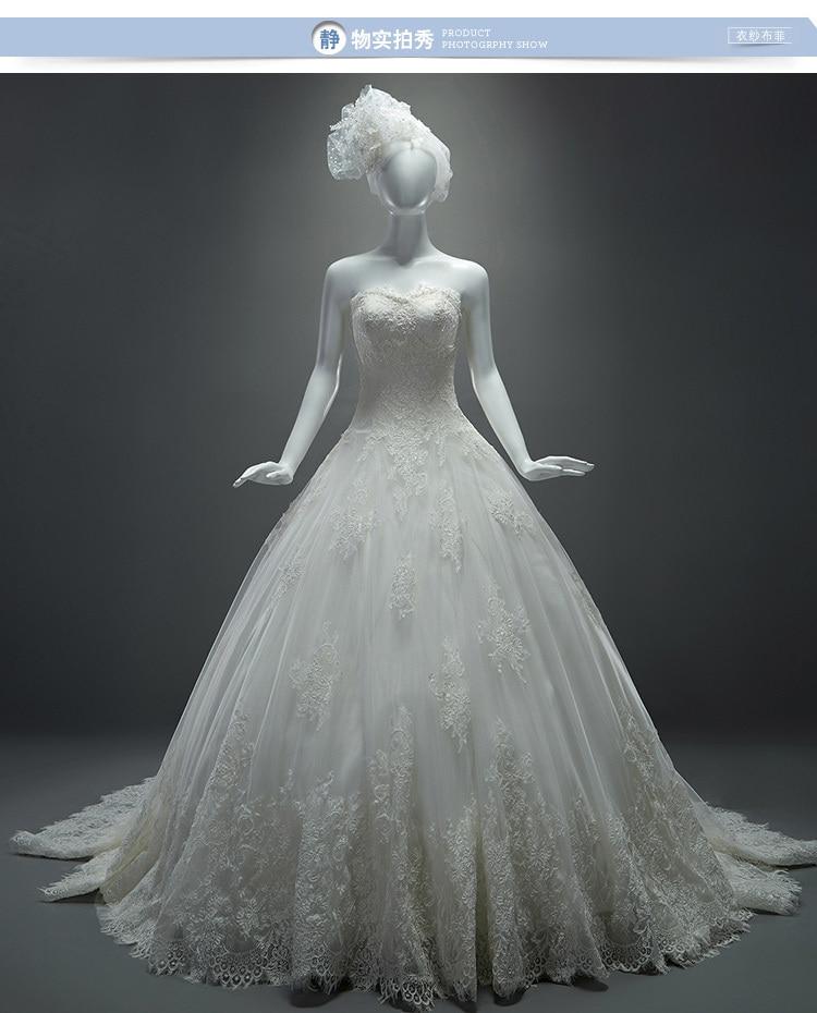 casamento appliques sleeves vestido de noiva 2016 new fashionable sexy ball bridal gown lace wedding dress bride free shipping