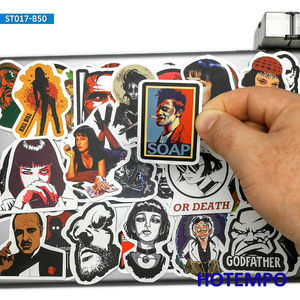 Image 1 - 50pcs Classic Movie Fight Club Godfather Mix Graffiti Stickers for Mobile Phone Laptop Luggage Pad Case Skateboard Decal Sticker