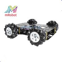 Smart Robot Car Chassis with 4Pcs 60Mm Mecanum Wheels 12V High Torque Motor for Arduino
