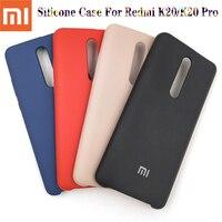 Funda de silicona líquida para Xiaomi Mi 9T Pro Redmi K20 Pro, 100% Original, suave al tacto, para Redmi K20/K20 Pro Mi 9t Pro