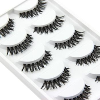 5 Pairs Of Natural And Lifelike False Eyelashes Naturally Thick Eyelashes False Eyelashes Makeup Beauty Tools Eyelash Decoration