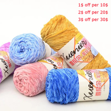 Yarn Knitting Cashmere Wool Scarf Sweater Blended Skein Acrylic Crochet Cotton Soft Chenille