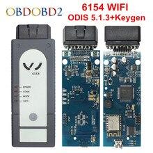 OKI 5054A ODIS V4.4.1 Keygen Bluetooth AMB2300 6154 wifi 5054A полный чип 5054 UDS для VAG диагностический инструмент