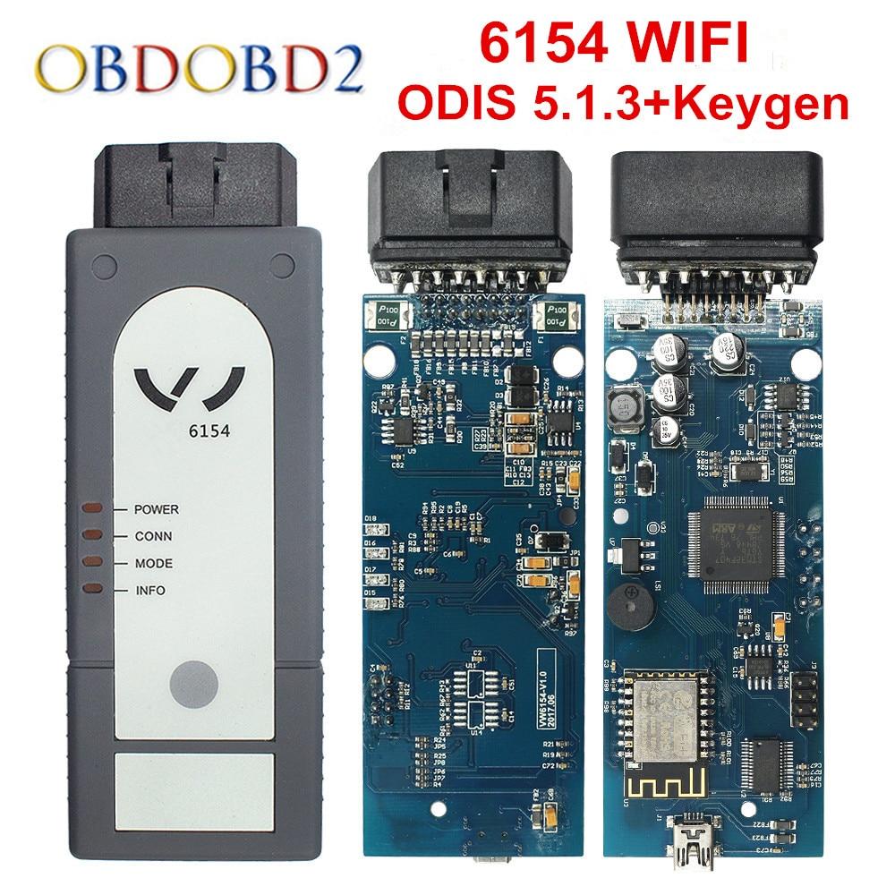 Original OKI 5054A ODIS V4.4.1 Keygen Bluetooth AMB2300 6154 WIFI 5054A Full Chip 5054 UDS For VAG Diagnostic Tool