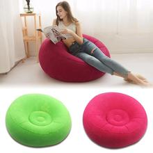 Lazy Sofas Inflatable Bean Bag Chair Inflatable Large Recliner Chair Foldable Sofa Computer Chair for Indoor Outdoor Tatami Seat outdoor and indoor bean bag buggle ups home furniture patio beach chair camping beanbag sofa seat cover only no filler