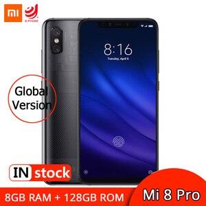 """Image 1 - Xiaomi Mi 8 Pro 8GB 128GB Version mondiale Smartphone Snapdragon 845 6.21 """"AMOLED affichage téléphone portable 12MP double caméra 3000mAh"""