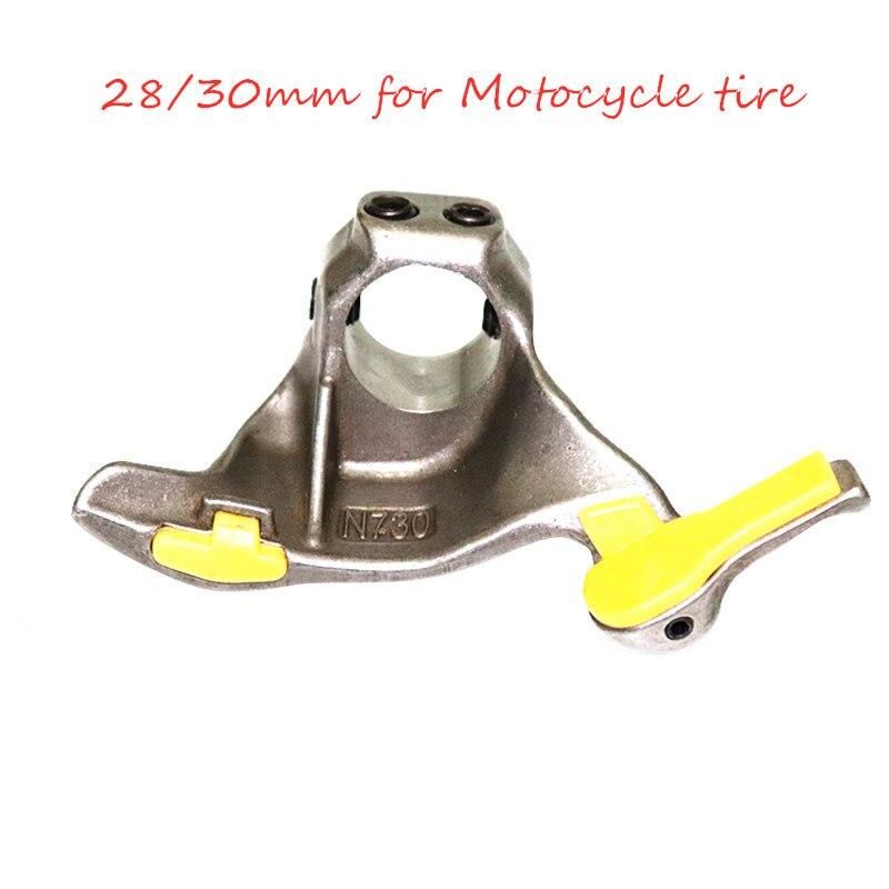 Tête de montage en acier chromé tête de démontage moto pneu réparation Machine tête de canard changeur de pneu pièce de rechange outil