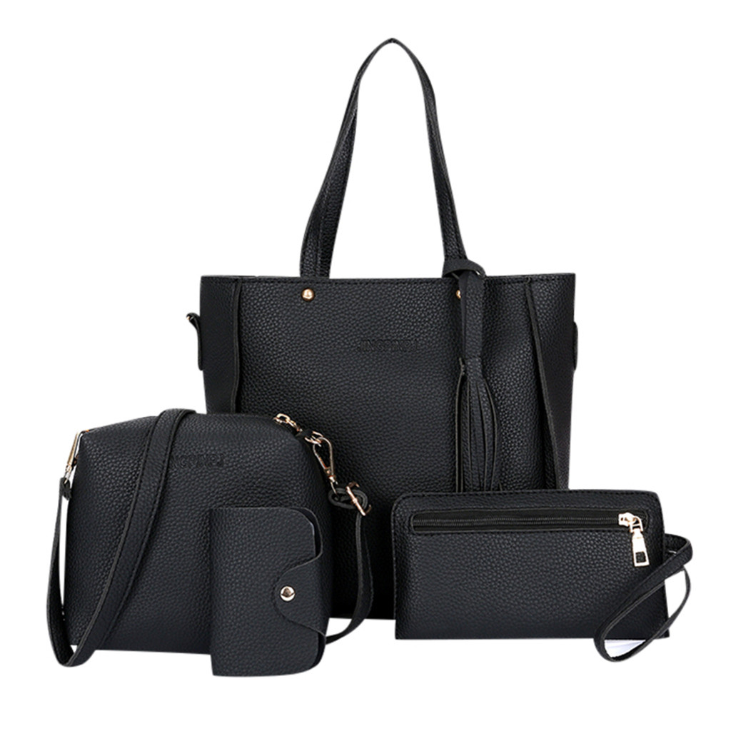 Composite Ladies Hand Bags Woman Bag Female Handbag Tote Bag Set Woman Messenger Shoulder Bag Lady Purse Day Clutch Hand Bag Set