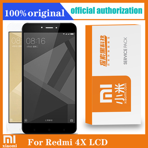 Image 1 - Xiaomi redmi 4X lcdディスプレイ + フレームデジタイザアセンブリスクリーン交換xiaomi redmi 4Xプロ