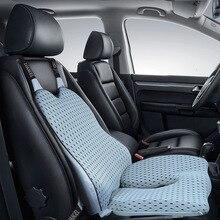 Auto Kussen Seat Ondersteuning Kussen Terug Kussen En Hip Pad Verlichten Wervelkolom Pijn Verlichten Stuitje En Taille Druk Lange Tijd zitten