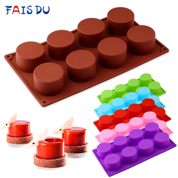 Silicone Pudding Mold Cake Pastry Baking Round Jelly Gummy Soap Mini Muffin Mousse Cake Decoration Tools Bread Biscuit Mould silicone pudding mold cake pastry baking round jelly gummy soap mini muffin mousse cake decoration tools bread biscuit mould