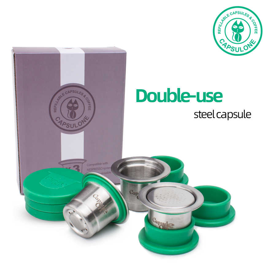 Refillable Reusable Stainless Steel