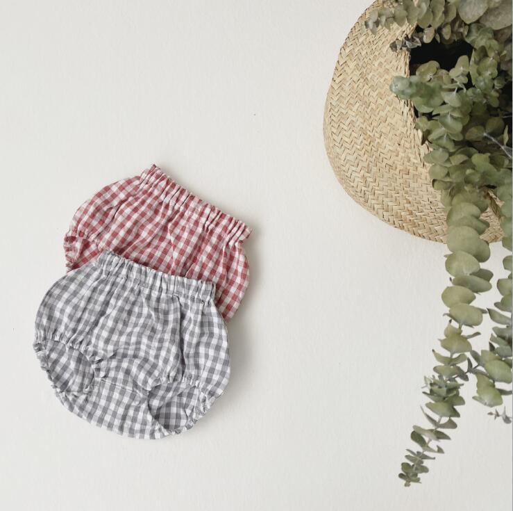 2020-new-baby-girls-2-pcs-plaid-set-shirt-shorts-fashion-summerbabys-cotton-girls-suit-6 (3)