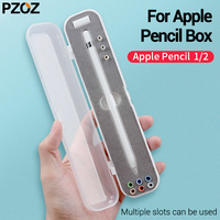 PZOZ Pencil Holder Case for Apple Pencil Storage Box Portable Hard cover Portable Case Airpods Air Pods apple pencil accessories|Tablet Touch Pens| |  -