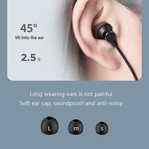 Image 4 - Auriculares inalámbricos Bluetooth Lenovo HE05 BT5.0 auriculares deportivos para correr IPX5 auriculares deportivos impermeables auriculares magnéticos con micrófono