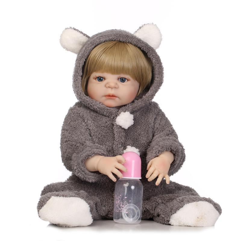 AliExpress Hot Selling Recommended Full Rubber Model Infant Doll Infant Clothing Model Creative Cool Gift