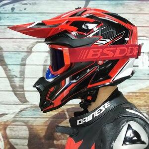 Image 1 - Motosiklet yetişkin motocross Off Road kask ATV kir bisiklet yokuş aşağı MTB yarış kask çapraz kask capacetes