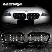 Quality front grills for f10 f11 BMW 5 series dual slat M5 style front kidney grille for BMW  520i 523i 525i 530i 535i 2010+ high quality new heater blower resistor for bmw e34 525i 530i 535i 540i m5 64118391699