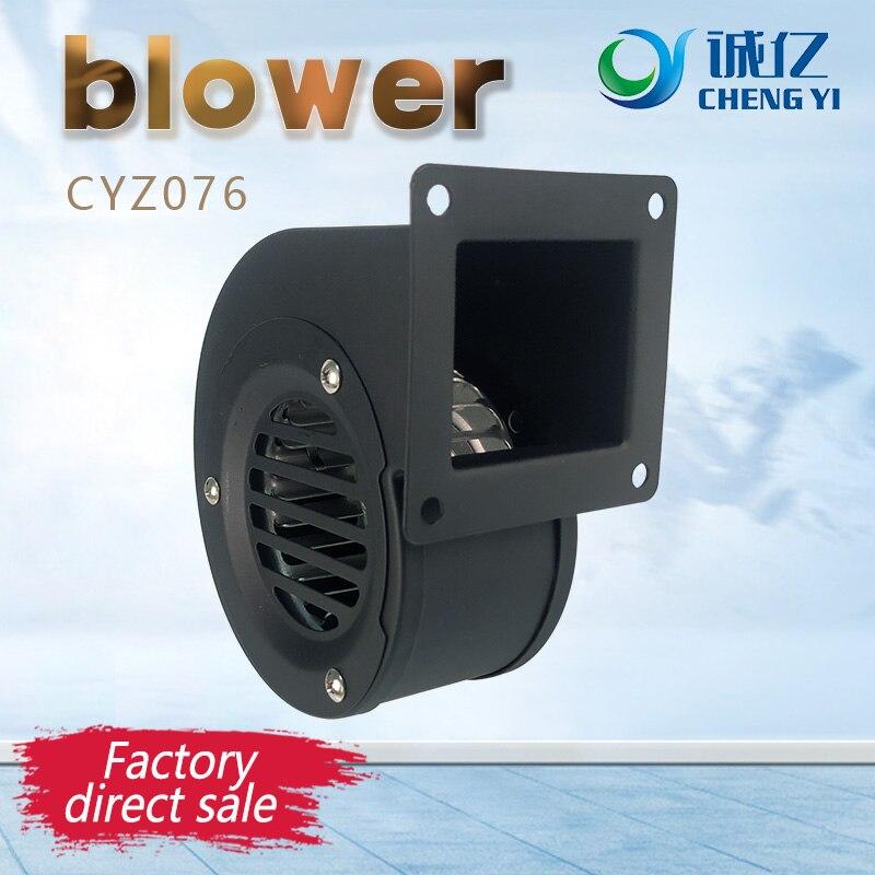 Aletler'ten Körükler'de CYZ076 230V AC santrifüj üfleyici  küçük  kazan üfleyici  ısı dağıtıcı fan  küçük gürültü büyük hava hacmi ile title=