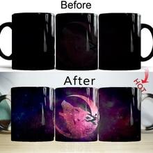 Mugs Coffee-Cup Wolf Creative Ceramic Magic-Moon Husband Color-Changing-Mugs Friend Tea