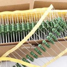 10PCS RX21 wire wound resisto 5W 1R 1.2R 1.5R 2R 2.2R 2.7R 3R 3.3R 3.9R 4.7R 5.1R 5.6R 6.2R 6.8R 8.2R OHM