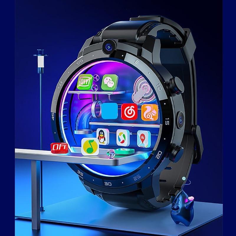 Смарт-часы с GPS-трекером, Android, MTK6762, 4 + 64 ГБ, Bluetooth 2