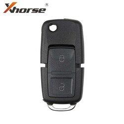 Xhorse XKB508EN fil clé à distance universelle B5 Style 2 boutons pour VVDI clé outil, VVDI2 (Version anglaise) 5 pièces/lot