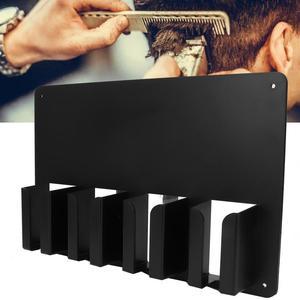 Soporte para máquina cortadora de pelo eléctrica para salón, bandeja de almacenamiento, soporte para máquina cortadora de pelo montada en pared