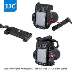 "Image 5 - JJC Deluxe מצלמה יד גריפ רצועת יד עבור Sony ניקון Canon פוג י Panasonic אולימפוס עם 1/4 "" 20 חצובה שקע עבור DSLR"