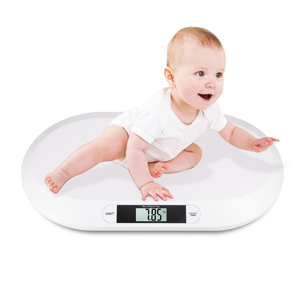 Baby Weight Scale Newborn Baby Plastic Electronic Digital Baby Pet Scale Lcd Display Home Weight Measure Tool Infant Scales