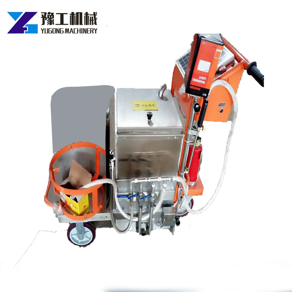 Gasoline Liquefied Gas Filling And Sewing Machine Hand Push Type Road Repair Sealing Pavement Crack Seam Sealing Machine