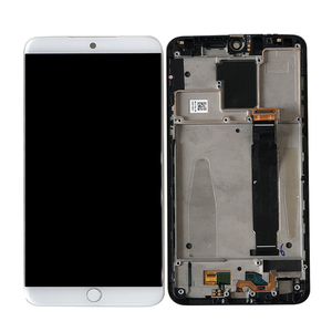 """Image 5 - 5.46""""Original Super  Amoled Axisintern For Meizu 15 MX 15 M881 Snapdragon 660  LCD Screen Display+Touch Panel Digitizer Frame"""