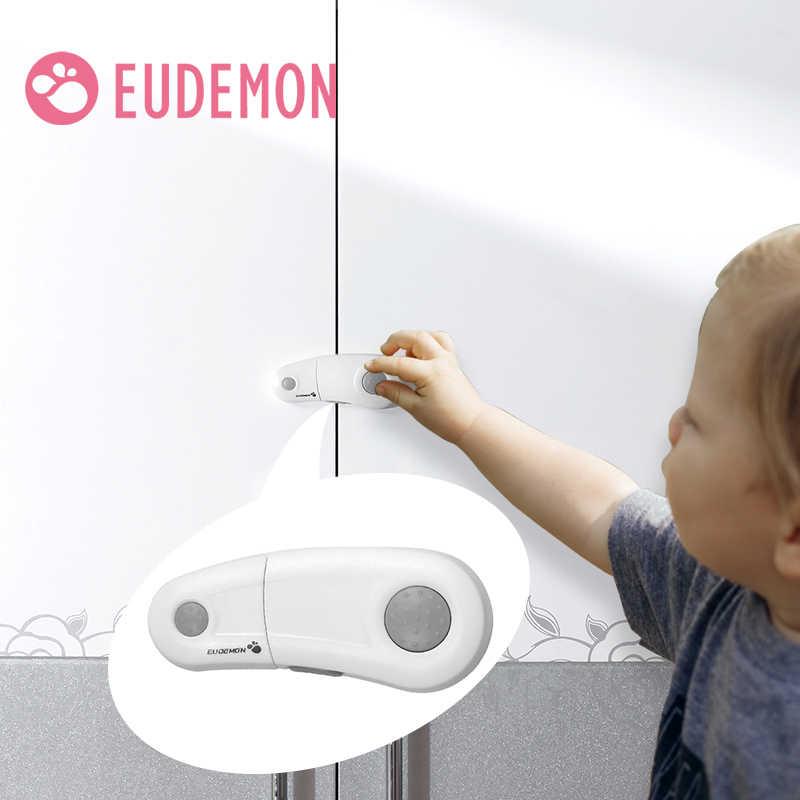 EUDEMON Cabinet Lock Drawer Cupboard Refrigerator Door Desk Plastic Locks  Protection from Children Baby Child Safety Latch Cabinet Locks & Straps  -  AliExpress