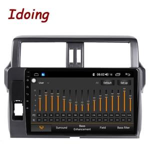 """Image 2 - Idoing 10.2 """"2.5D 4G + 64G Android araç radyo multimedya GPS oynatıcı Toyota LAND CRUISER PRADO için 150 2013 2017 DSP hiçbir 2DIN DVD"""