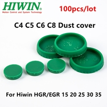 Protector HGR15 HGR20 HIWIN Rail-Guide Dust-Cover Linear-Motion Plastic C5 Green-Caps