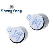 Новое поступление 10 шт. Шэньян 5v активный зуммер Магнитный длинный непрерывный сигнал бипера 12*9,5 мм