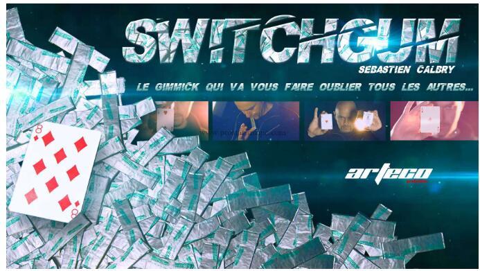 Switch Gum By Sebastien Calbry Magic Tricks