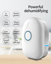 AC100-240V Home Semiconducto Dehumidifier Mini Portable Air Dryer Desiccant Moisture Absorber Low Noise Bedroom Dehumidifier 700ml air dehumidifier semiconductor desiccant moisture absorber portable air purifier mini electric dryer machine for household