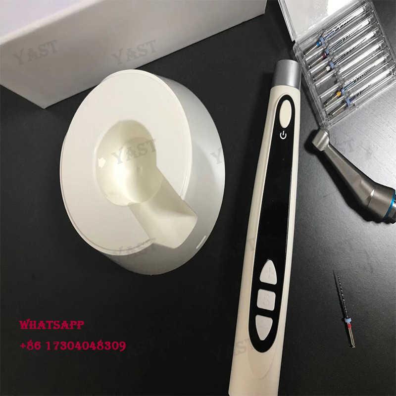 NUOVO 1set nuevo equipo de odontología dentista Endomotor Dentale 1: 1 pieza de mano Contra ángulo pantalla OLED HD y mango inalámb
