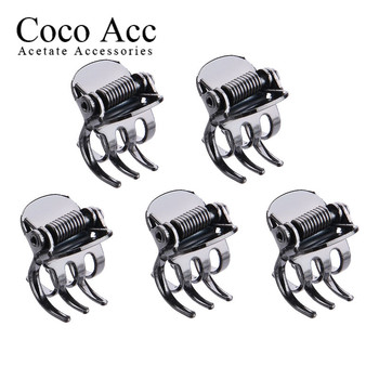 wholesale antique copper metal high quality small mini hair claws snap side clips jaw crab clamp clips недорого