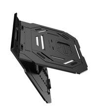 Подставка для ноутбука 10 передач регулировка высоты ноутбук планшет Поддержка кронштейн держатель для охлаждения Съемный держатель для телефона