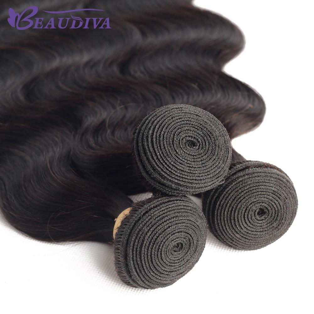 Beaudiva Hair 5/10 Bundles Deals  Body Wave Hair Bundles 100%   Hair Bundles Natural Color Hair  6