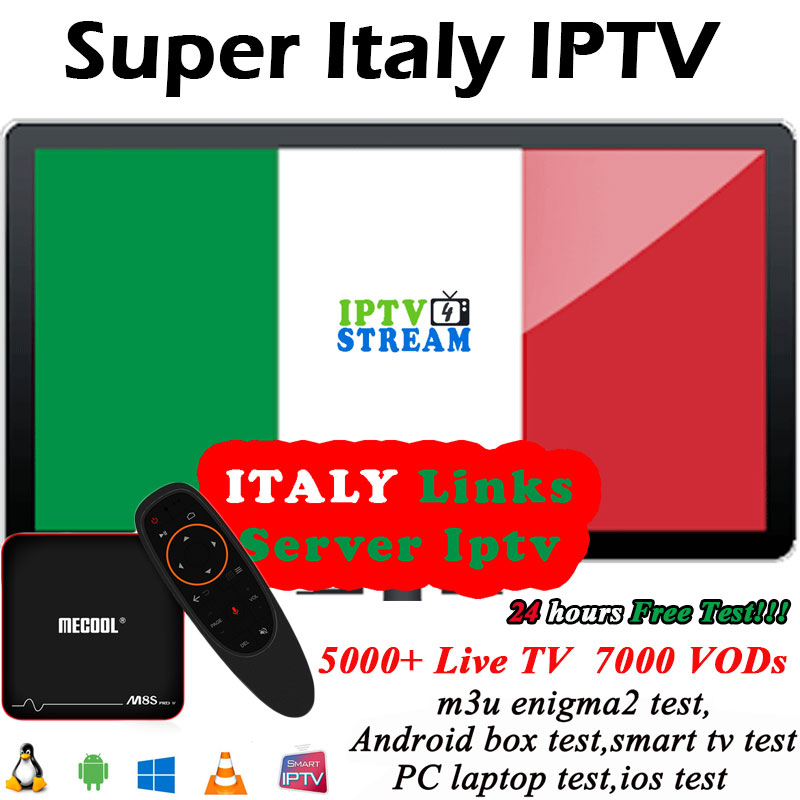 Breakist IPTV italia pour 1 an iptv abbonamento pour italie espagne france allemagne UK Latino indien 3000 + Live TV sports pour tv box