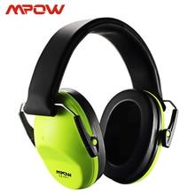 Mpow HM068 Crianças Earmuffs Earmuffs Ouvido protetor 25dB Proteção Auditiva NRR ANSI CE Certificado Estojo Portátil Para Dormir Tiro Caça