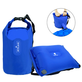 GeerTop Multifunctional Inflatable Air Pillow Large Dry Bag Storage Bag Pump for Sleeping Pad Tourist Camping Outdoor Backpack 1
