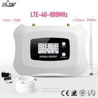 Hohe Qualität! LTE 4G 800MHz Signal Booster   4G Handy Signal Repeater zellulären signal Verstärker LTE 4g repeater kit-in Signal-Booster aus Handys & Telekommunikation bei