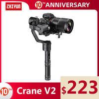 ZHIYUN Official Crane V2 3-Axis Handheld Gimbal Stabilizer Kit for DSLR Camera Sony/Panasonic/Nikon/Canon